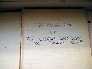 Old Minute Book